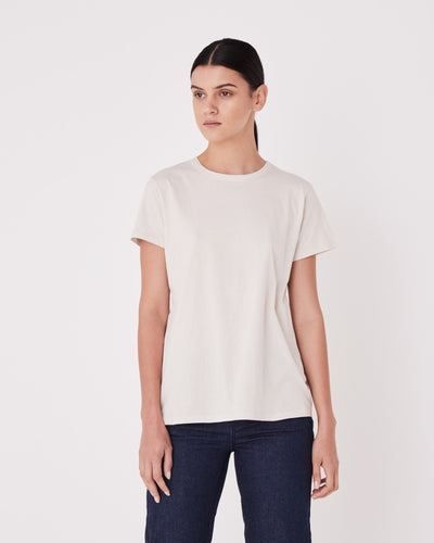 ASSEMBLY LABEL - Classic Tee, Chalk