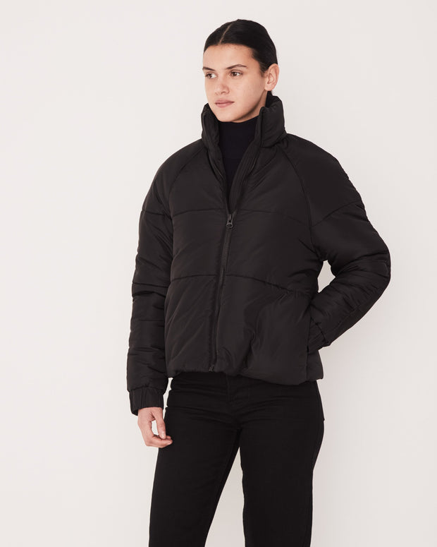 ASSEMBLY LABEL - Classic Puffer Jacket, Black - Makers On Mount
