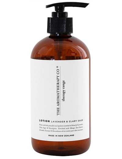 THE AROMATHERAPY CO - Therapy Range, Lavender & Clary Sage, Hand & Body Lotion - Makers On Mount