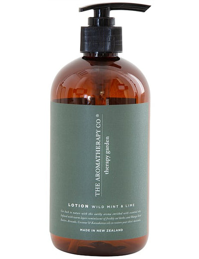 THE AROMATHERAPY CO - Therapy Garden, Hand & Body Lotion, Wild Mint & Lime