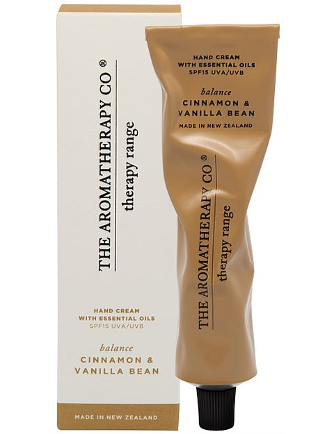 THE AROMATHERAPY CO - Therapy Range, Cinnamon & Vanilla Bean, Hand Cream