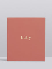 WRITE TO ME - Baby, Your First Five Years, Blush