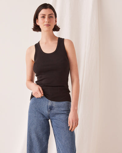 ASSEMBLY LABEL - Kai Rib Tank, Black