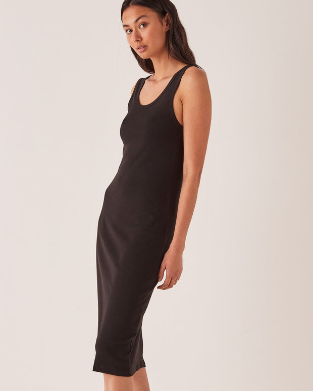 ASSEMBLY LABEL - Kai Rib Dress, Black