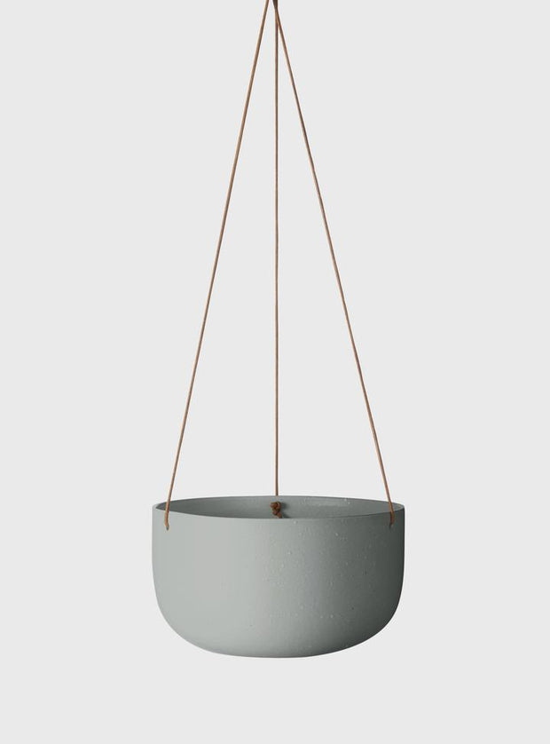 EVERGREEN COLLECTIVE - Cade Hanging Pot Large, Sage