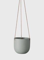 EVERGREEN COLLECTIVE - Cade Hanging Pot Small Sage