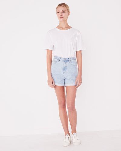 ASSEMBLY LABEL - Rolled Hem Shorts, Pacific Blue
