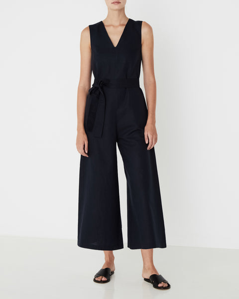 ASSEMBLY LABEL - Eisa Jumpsuit, True Navy - Makers On Mount