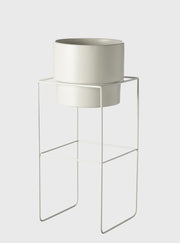 EVERGREEN COLLECTIVE - Alto Pot Stand Tall, White