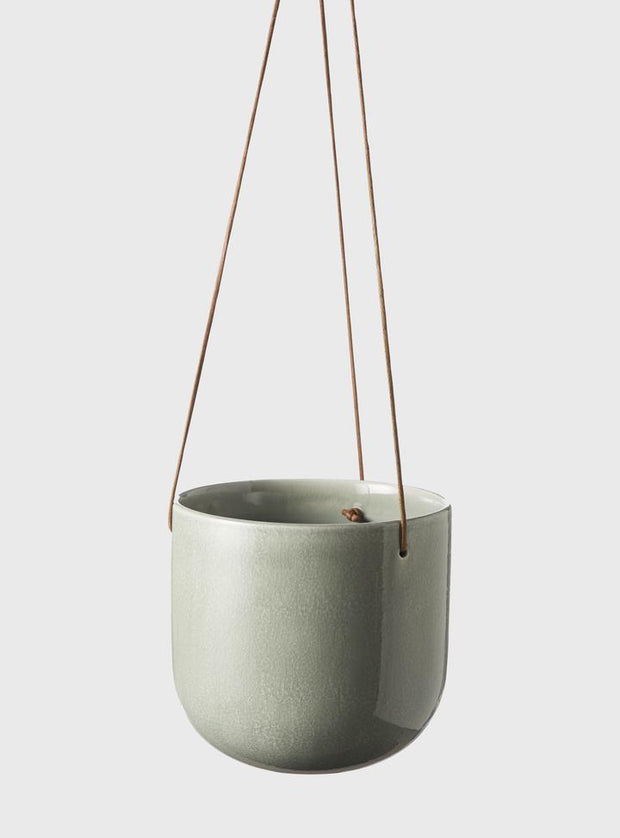 EVERGREEN COLLECTIVE - Mio Hanging Pot Small, Moss