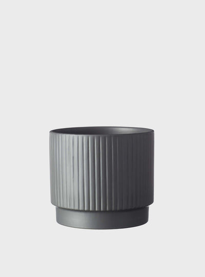 EVERGREEN COLLECTIVE - Dune Pot Small, Charcoal