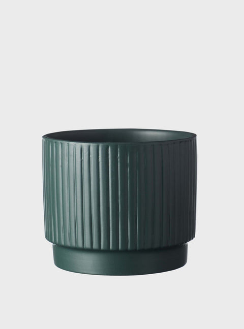 EVERGREEN COLLECTIVE - Dune Pot Medium, Teal Green - Makers On Mount
