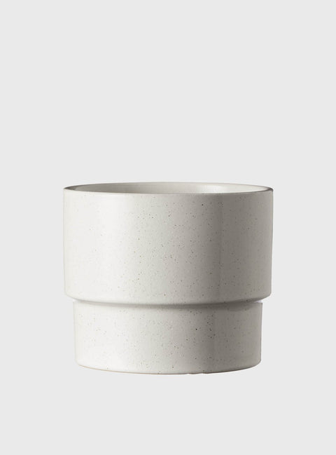 EVERGREEN COLLECTIVE - Sonny Pot Medium, Soft White - Makers On Mount