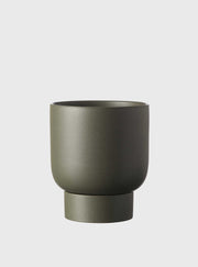 EVERGREEN COLLECTIVE - Finch Pot Small, Cypress Green