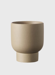 EVERGREEN COLLECTIVE - Finch Pot Medium, Taupe - Makers On Mount