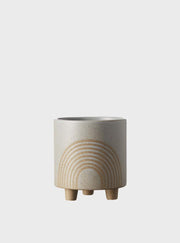 EVERGREEN COLLECTIVE - Birch Pot Small, Fog - Makers On Mount