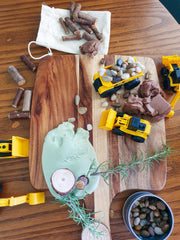 NATURE & CO - Sensory Play Dough Kits, Construction