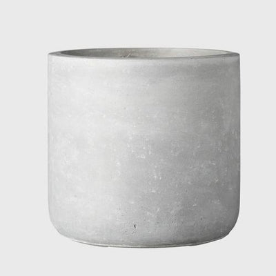 EVERGREEN COLLECTIVE - Jimmy Planter Small, Light Grey