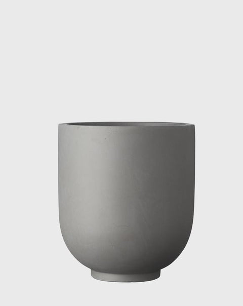 EVERGREEN COLLECTIVE - Grace Planter Large, Grey