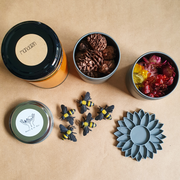NATURE & CO - Sensory Play Dough Kits, Mini Busy Bees