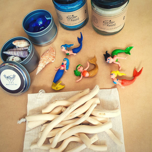 NATURE & CO - Sensory Play Dough Kits, Mermaid