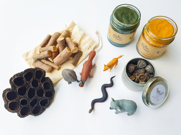NATURE & CO - Sensory Play Dough Kits, Australian Animals