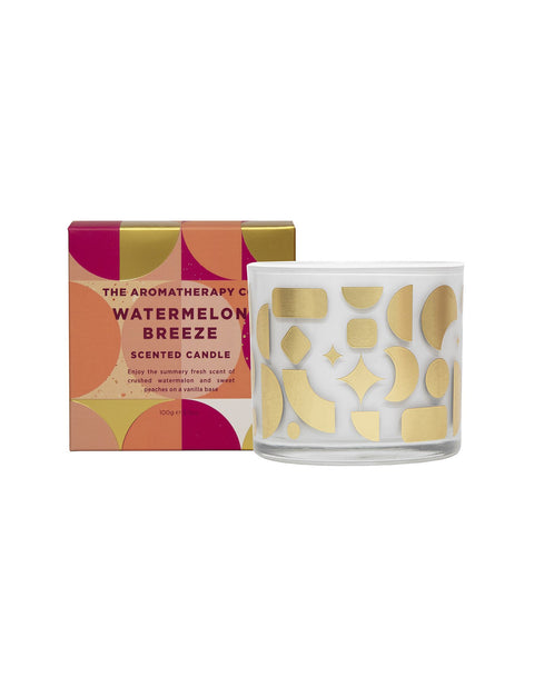 AROMATHERAPY CO - Festive Votive Candle 100g, Watermelon Breeze