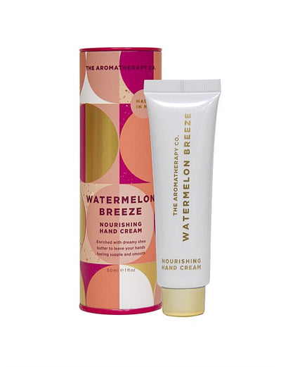 AROMATHERAPY CO - Festive Favours Hand Cream 30ml, Watermelon Breeze