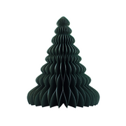 NORDIC ROOMS - Paper Standing Tree Decoration, Forest Green