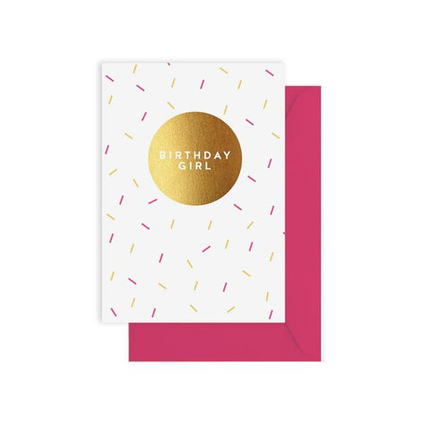 ELM PAPER - Birthday Girl Sprinkles, Card