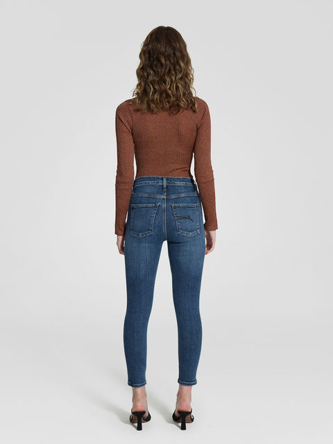 NOBODY DENIM - Cult High Rise Skinny, Ankle Length, Prime - Makers On Mount