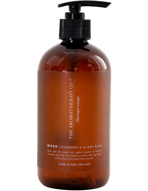 THE AROMATHERAPY CO - Therapy Range, Hand & Body Wash, Lavender & Clary Sage
