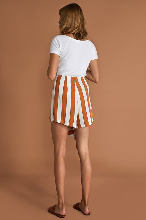 SANCIA - The Odette Short, Sedona Stripe - Makers On Mount