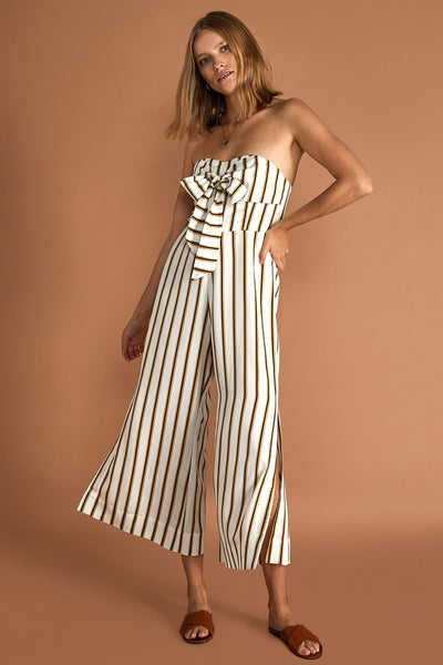 SANCIA - The Praia Jumpsuit, Cilou Stripe