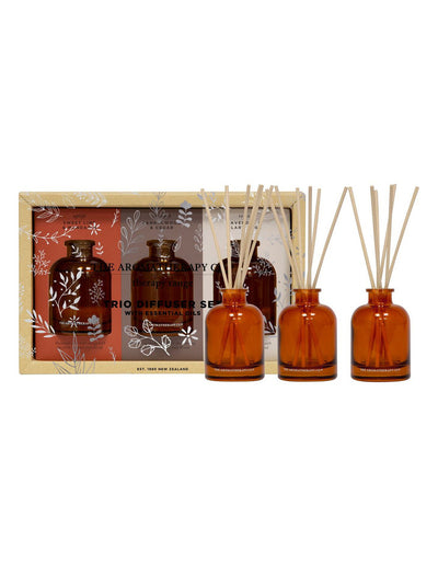 THE AROMATHERAPY CO - Therapy Mini Diffuser Trio Gift Set