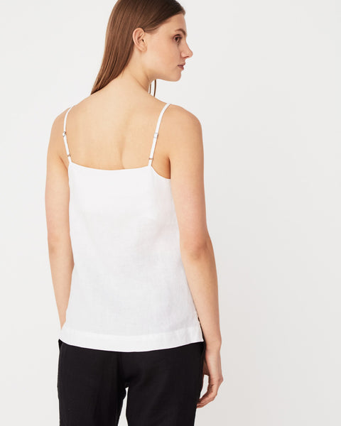 ASSEMBLY LABEL - Linen Slip Top, White - Makers On Mount