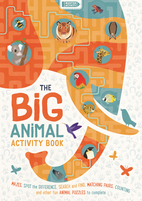 The Big Animal Activity Book