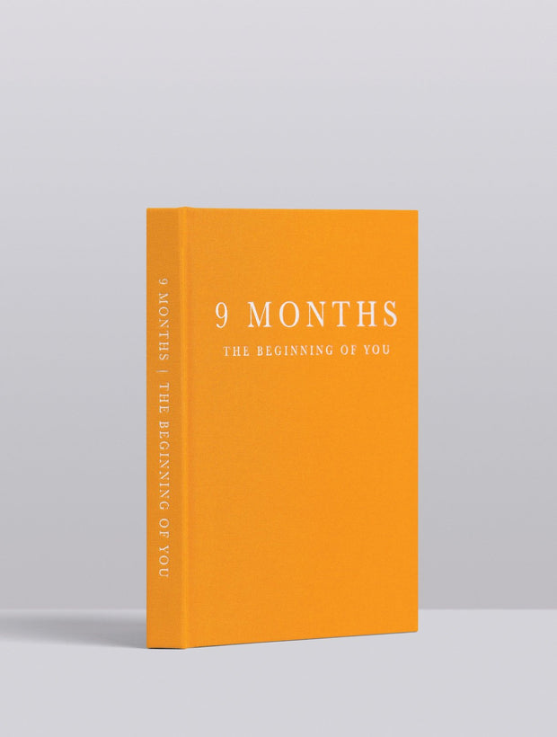 WRITE TO ME - 9 Months, Pregnancy Journal, Mustard
