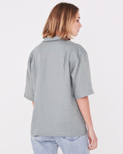 ASSEMBLY LABEL - Xander Short Sleeve Shirt, Mineral Green - Makers On Mount