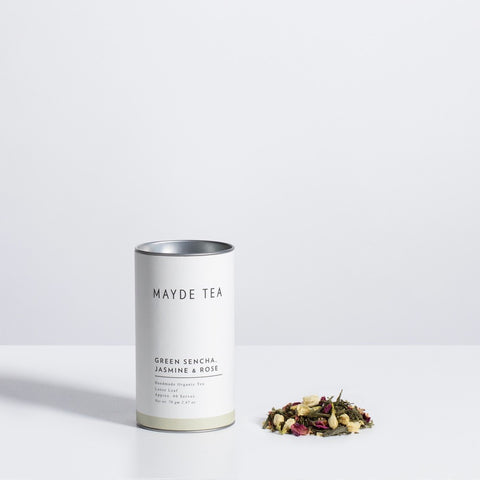 MAYDE TEA - Green Sencha, Jasmine & Rose