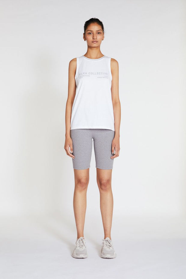 ELKA COLLECTIVE - Racer Tank, White