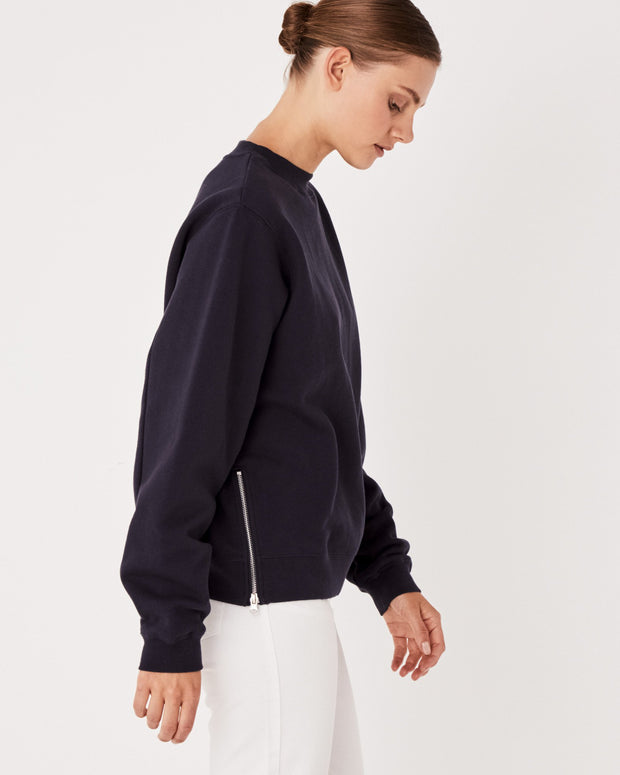 ASSEMBLY LABEL - Allusive Fleece, Worn Navy