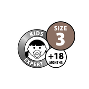 BIBS - Dummies, Double Pack, Size 3