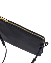 THE HORSE - Two Fold Cross Body Bag, Black - Makers On Mount