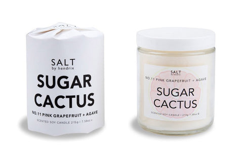 SALT BY HENDRIX - Sugar Cactus, Candle