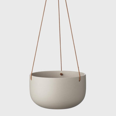 EVERGREEN COLLECTIVE - Cade Hanging Pot Large, Ash