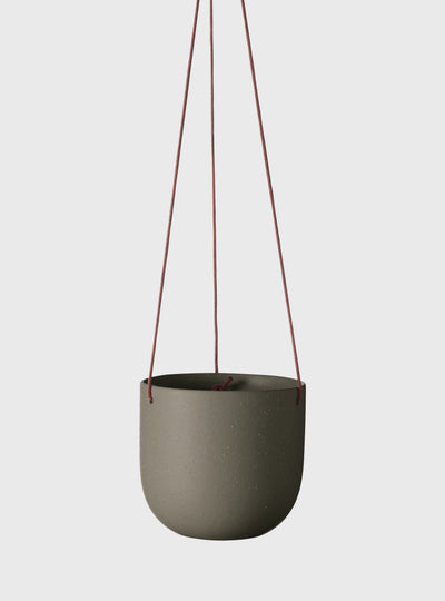 EVERGREEN COLLECTIVE - Cade Hanging Pot Small Cypress