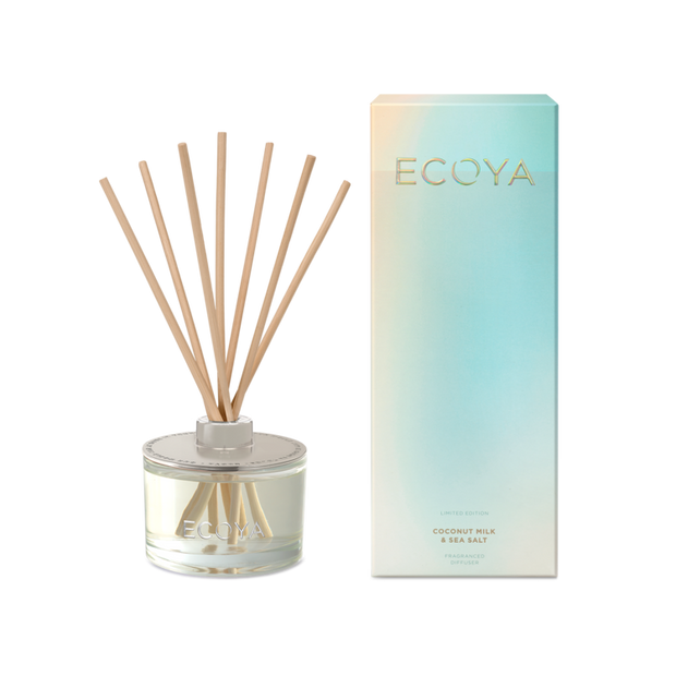 ECOYA - Coconut Milk & Sea Salt, Diffuser LIMITED EDITION