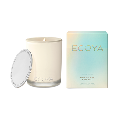 ECOYA - Coconut Milk & Sea Salt, Madison Candle