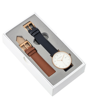 THE HORSE - D Series Watch, Gift Box (Tan/Navy) - Makers On Mount